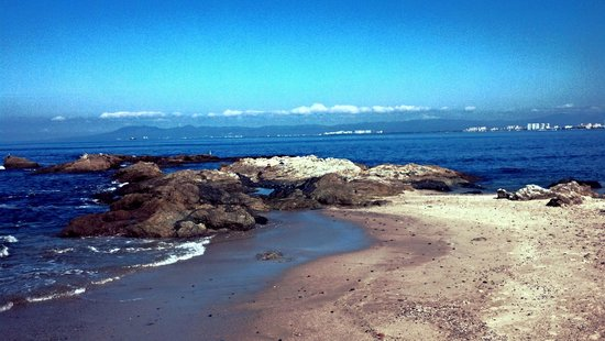 Playa las Gemelas : hermosa playa