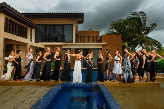 Banyan Tree Mayakoba: Beach villa pre-wedding