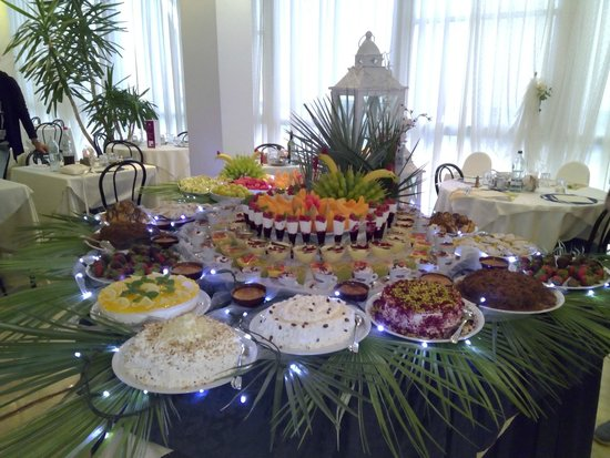 Hotel Mauritius: Buffet di dolci