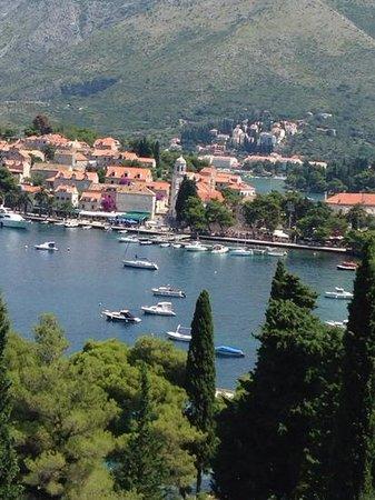 Hotel Croatia Cavtat : view from hotel of cavtat
