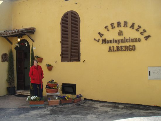 La Terrazza di Montepulciano: Entrada do hotel