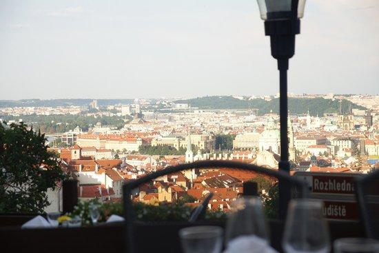Questenberk: Vue de la terrasse