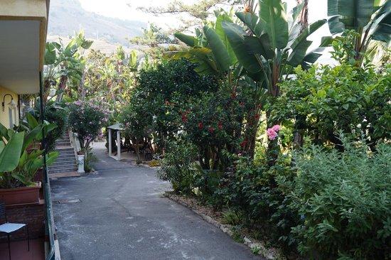 Hotel Baia delle Sirene: территория