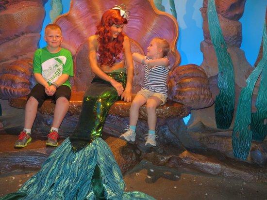 Disney's Caribbean Beach Resort : My five year old loved meeting the various princesses!