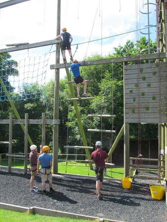 Morfa Bay Adventure: On Site