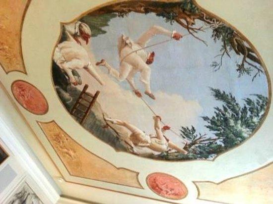 Ca' Rezzonico: Fresco ceiling