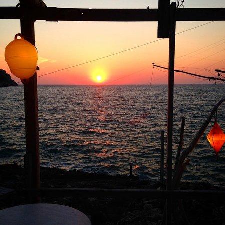 Al Trabucco Da Mimi: tramonto