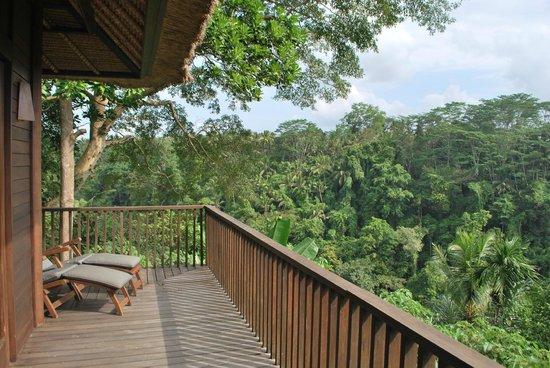Alila Ubud : Our balcony
