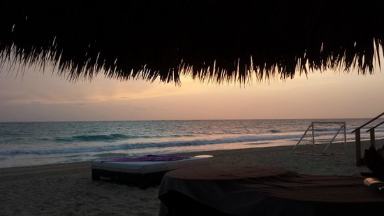 Paradisus Punta Cana: Sunrise on the beach