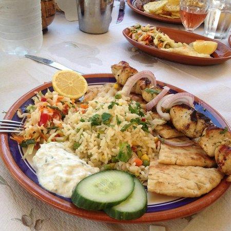 Ellados Gefsis : Chicken Souvlaki