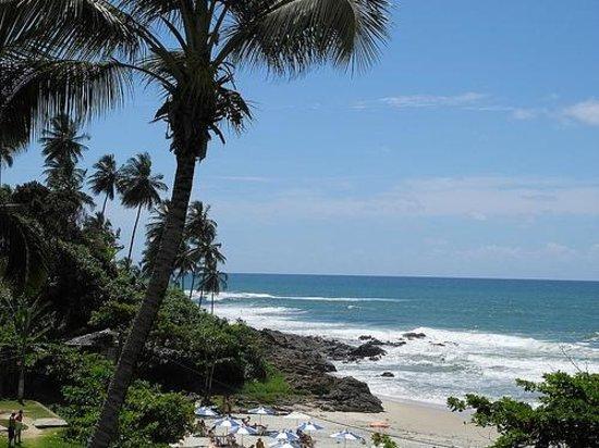 Praia da Tiririca: Tiririca beach as seen from Pousada Tanara, Itacare, Bahia, Brazil