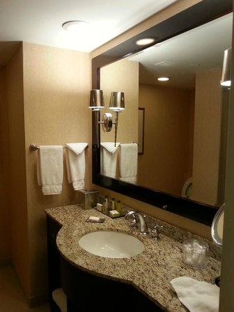 DoubleTree Hotel Boston/Bedford Glen: Bathroom is nice and clean
