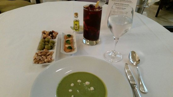 The Westin Palace Madrid: This broccoli soup was the bomb! So delicious!