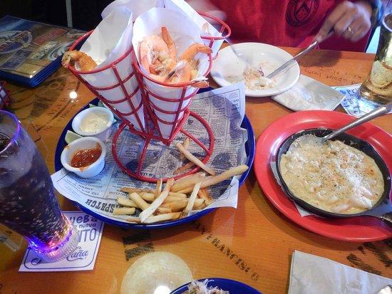 Bubba Gump Shrimp Co. : Pratos do bubba gump!!