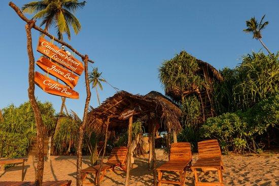 Cinnabar Resort: As seen from the beach