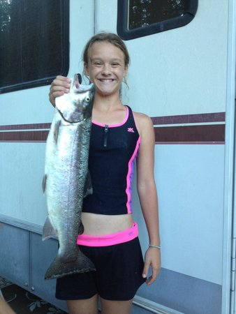 Rocky Point Resort: 6 lb trout made the trophy board