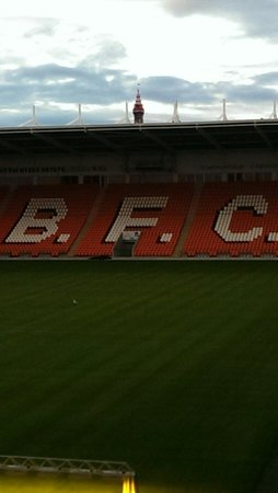 Rowley's: Rowleys at Blackpool Football Club