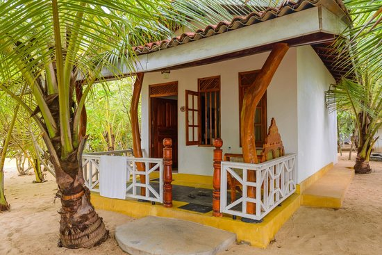 Ibis Guesthouse: Cabana right on the beach!