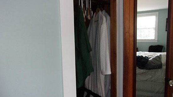 Dragonfly Guest House : Closet with 2 Robes