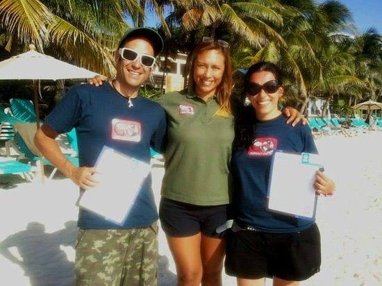 Anthony's Key Resort : La mejor Course Director para tu IDC!!!!