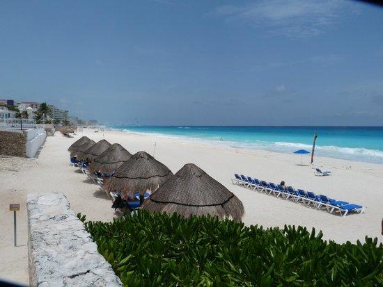 Royal Solaris Cancun: La plage
