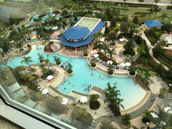 Hilton Orlando: Beautiful Pool area