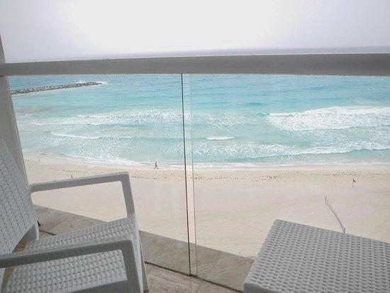 Krystal Cancun: vista para o mar