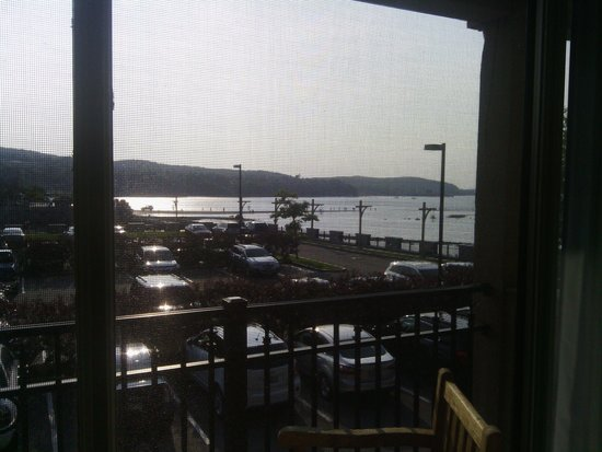 Harborside Hotel & Marina : View from Islandview King