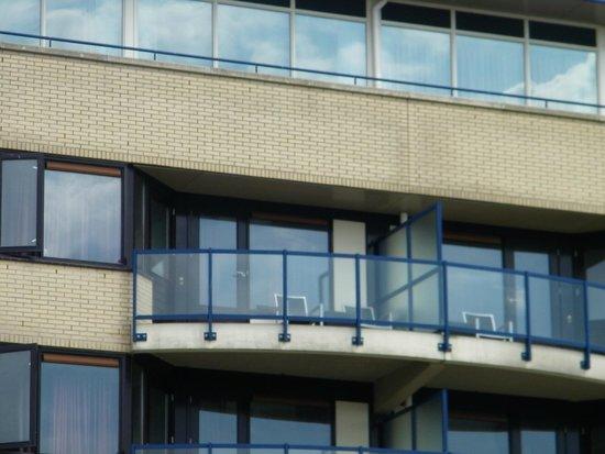 Apollo Hotel IJmuiden Seaport Beach: het balkon