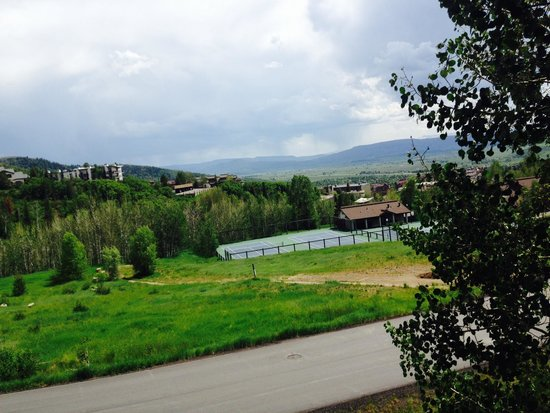 The Ranch at Steamboat: View from the other balcony