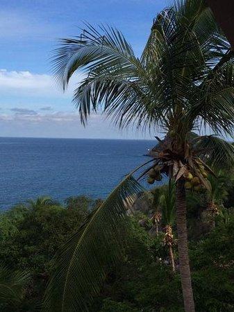 Koh Tao Hillside : View vanuit de ontbijtzaal