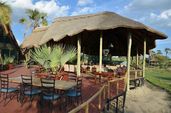 Maramboi Tented Camp: Restaurant area