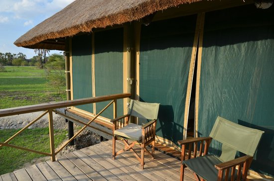 Maramboi Tented Camp: Balcony/terrace