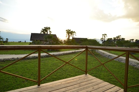 Maramboi Tented Camp: Look from the balcony