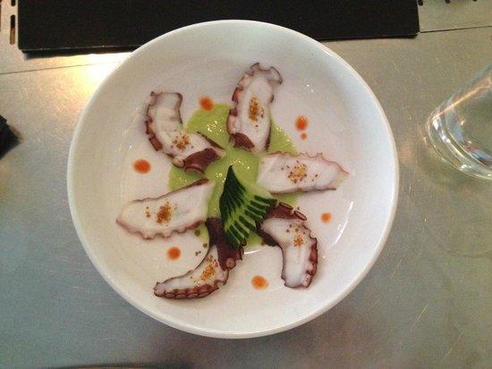 Izakaya Asian Kitchen & Bar: Octopus Jalopeno (very good)