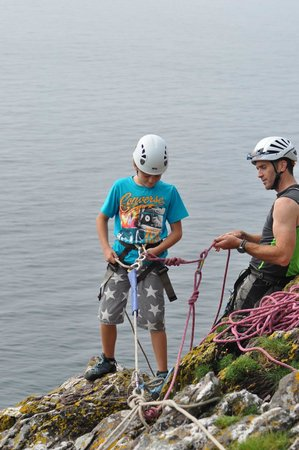 Irish Adventures: First time abseiling