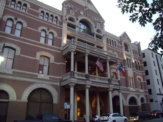 Entrance to The Driskill