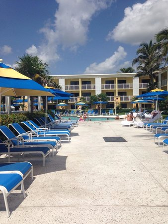 Delray Sands Resort on Highland Beach: Pool area
