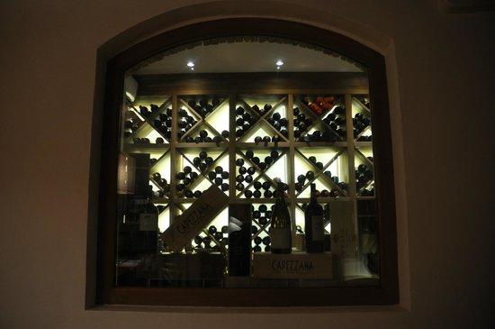 Locanda Le Piazze: le cellier