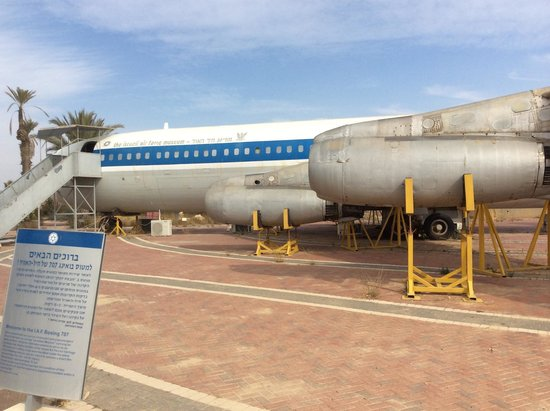 Hatzerim Israel Airforce Museum: 707 from Entebbe Rescue - 1976