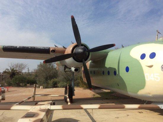 Hatzerim Israel Airforce Museum: C-130 Hercules