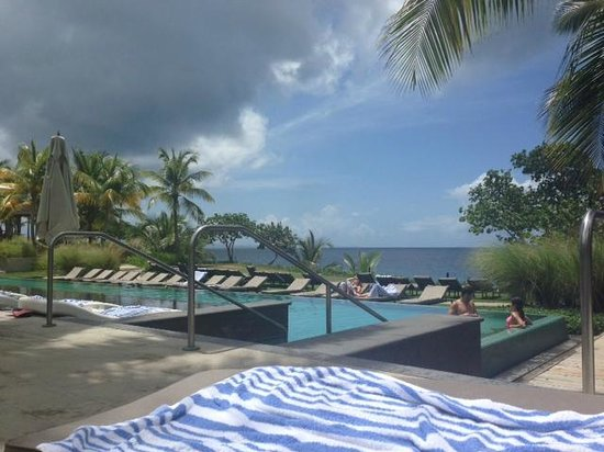 W Retreat & Spa - Vieques Island: view from top pool deck and from room