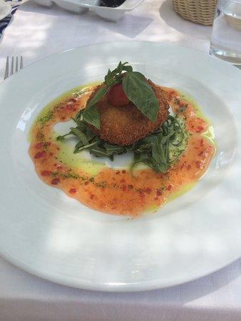 Le Marquis Restaurant: Fishcake