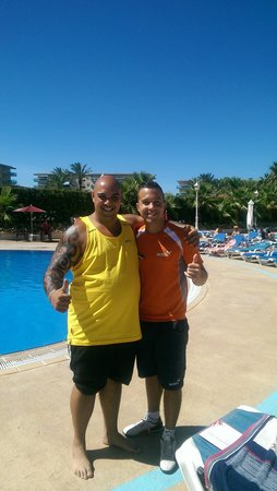 """Gran Hotel La Hacienda: me and the one and only """" John Franco """""""