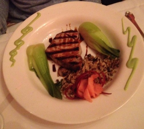 The Prince and the Pauper: Grilled swordfish