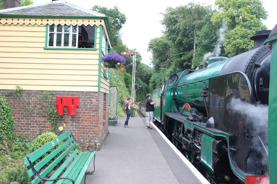 The Mid Hants Railway Watercress Line: Medhamstead