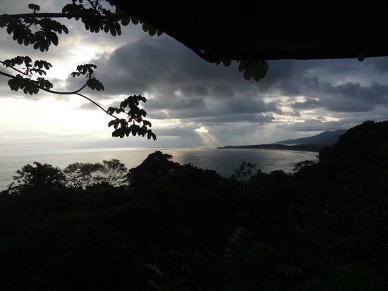 La Cusinga Eco Lodge: coucher de soleil