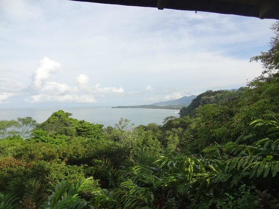 La Cusinga Eco Lodge : vu de la terrasse
