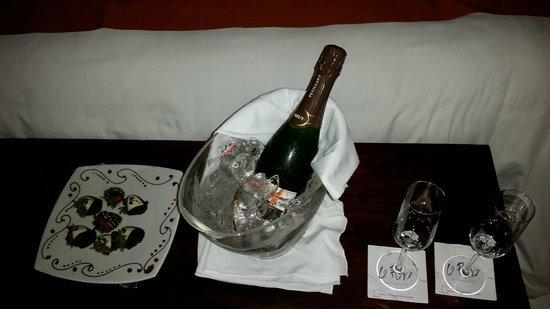 Le Reve Hotel & Spa: Una excelente cortesía del hotel