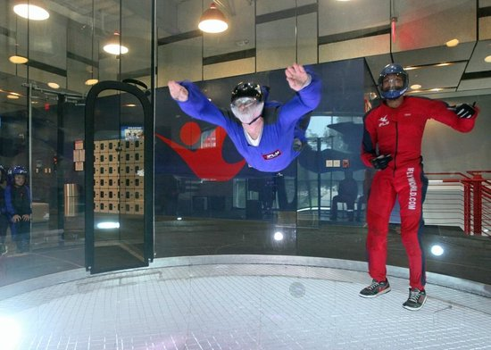 iFLY Indoor Skydiving - Austin: SJ and Waz @ IFly Austin